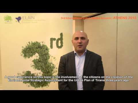 ELAIN | 3rd International event | Media Session | ATHENS | Tirana | Romeo Hanxhari