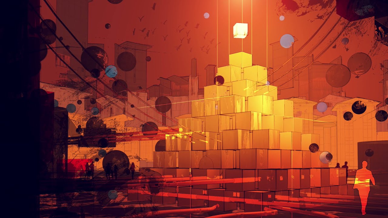 SKILLSHARE – CRYPTO ART: CREATE A DYSTOPIAN CITY USING TRADITIONAL PAINTING TECHNIQUES AND CINEMA 4D