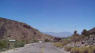 Route 66 between Oatman and  Kingman!