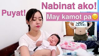 2months after Giving Birth | Normal Delivery | Binat,Kamot,Tahi