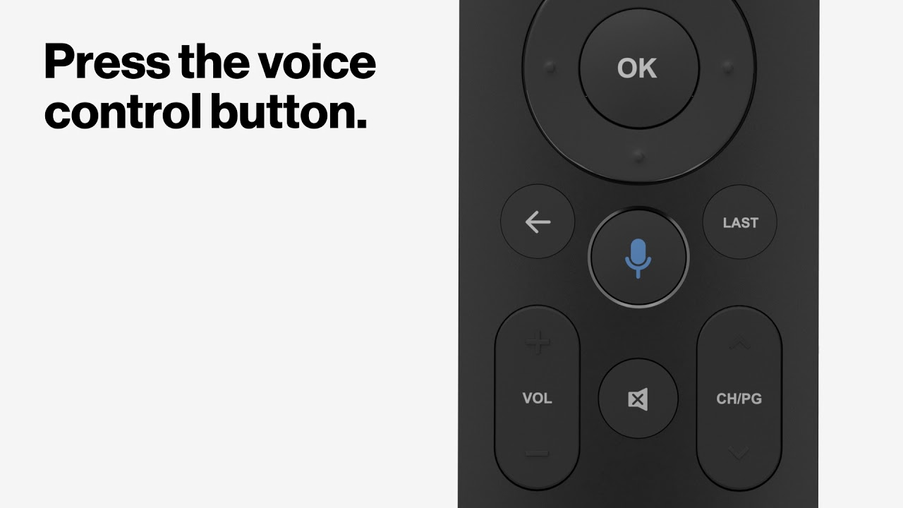 Fios TV Voice Remote | Verizon TV Support
