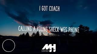 Sheck Wes - mo Bamba lyrics ( clean )