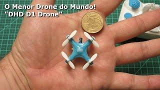 O Menor DRONE do Mundo!
