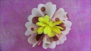 Flor de TNT Fácil – Estampado