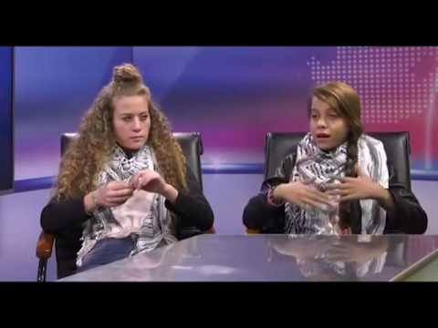 Interview with Palestinian Youth Activists Janna Jihad & Ahed Tamimi on ITV