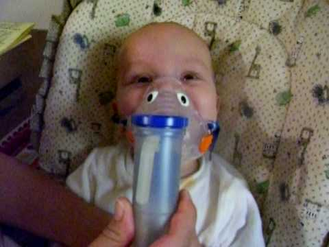 Zachary's Nebulizer Treatment - YouTube