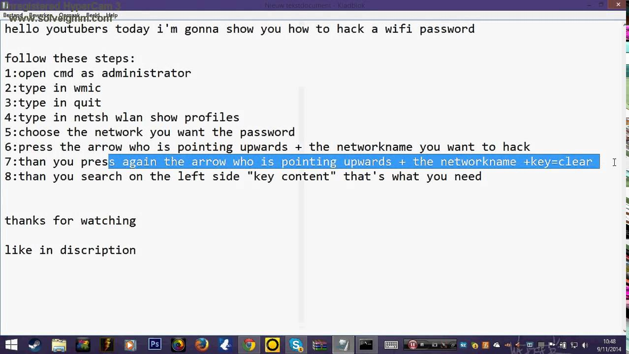 How to hack a wifi password using cmd 720p youtube how to hack a wifi password using cmd 720p ccuart Image collections