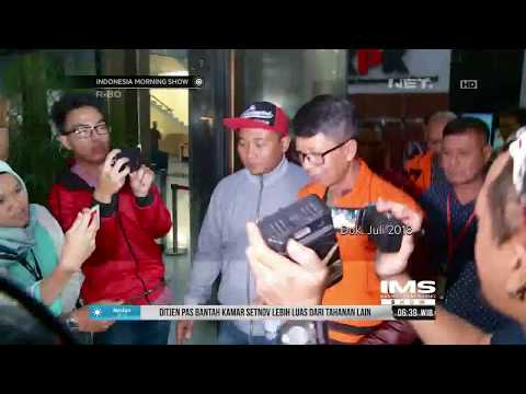 Ombudsman Sidak Kamar Setya Novanto Di Lapas Sukamiskin Bandung-IMS