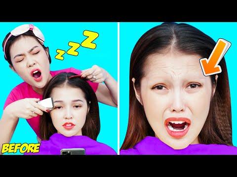 23 BEST PRANKS AND FUNNY TRICKS | Funny DIY SIBLING PRANKS! Trick Your SISTER Vs BROTHER PRANKS