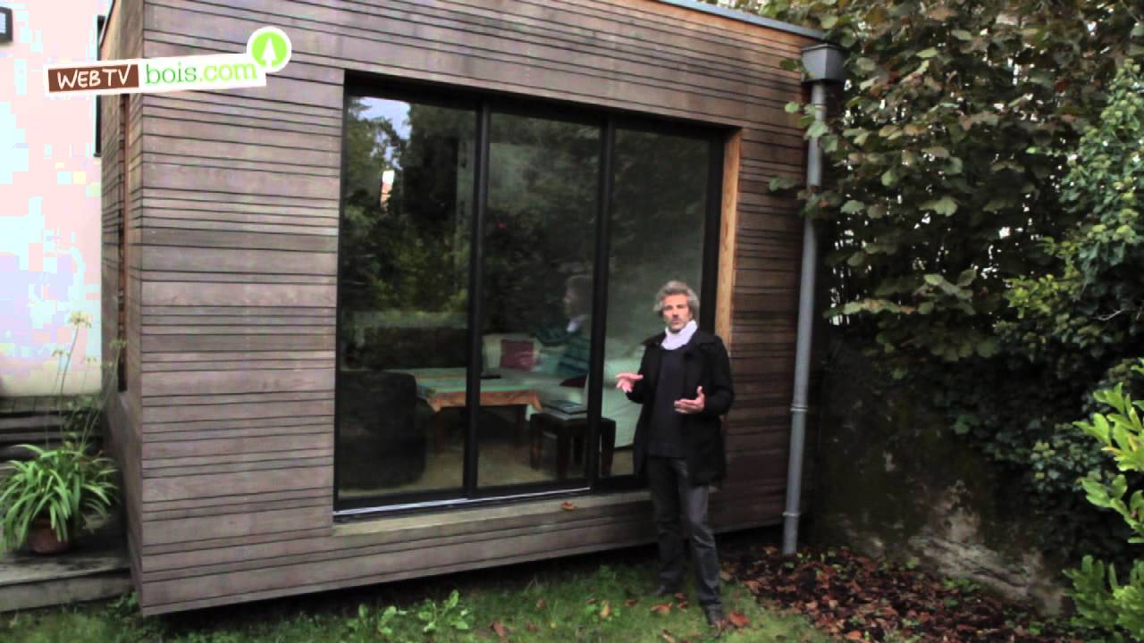 Extension bois youtube - Agrandissement maison veranda ...