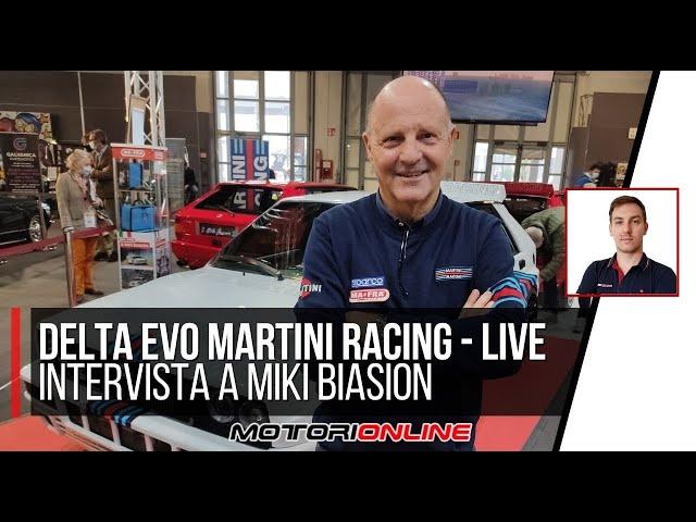 DELTA EVO MARTINI RACING | L'intervista a Miki Biasion, due volte campione del mondo rally