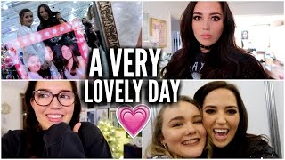 A Lovely Day At Beautycon With Hobbie 💗 | VLOGMAS #3