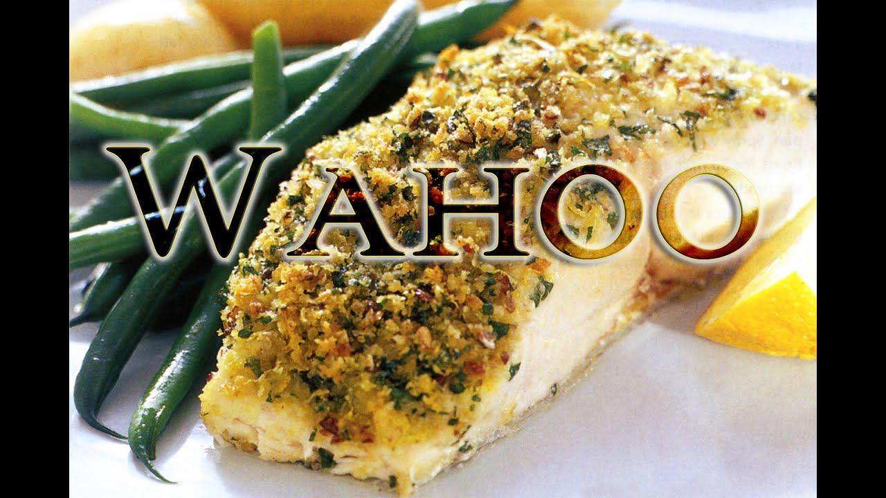 The best fish i 39 ve ever had tasty tuesday 25 wahoo for Wahoo fish recipes