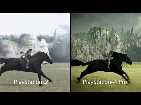 Shadow of the Colossus - EDIÇÃO DE COLECIONADOR E DIFERENÇAS DO PS4 PRO