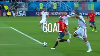 highlight piala dunia 2018 Spanyol Vs Maroko (Jadwal Bola selanjutnya di akhir video!!!)