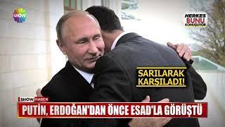 Putin, Erdoğan'dan önce Esad'la görüştü