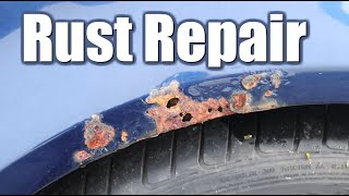 How to Repair Rust on Your Car Without Welding. Rust Removal
