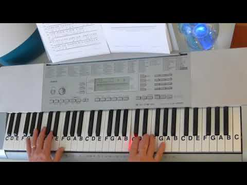 How To Play ~ Come Thou Fount of Every Blessing ~ Classic Gospel Hymn ~ LetterNotePlayer ©
