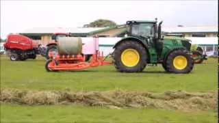 Green (Grass) Harvest Demonstration at the Border Union Show 2015