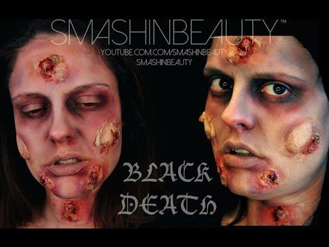 Black Death Plague SFX Halloween makeup tutorial 2017 (London Dungeon)SMASHINBEAUTY