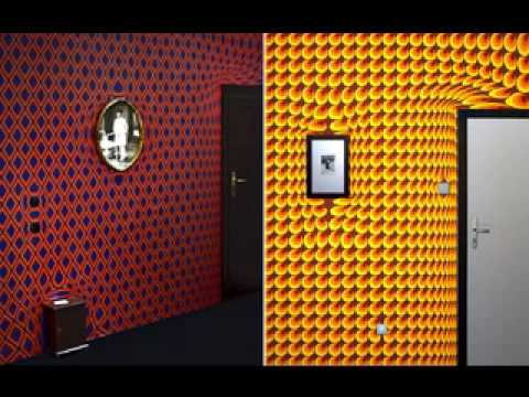 Trippy wallpaper decorating ideas for room YouTube