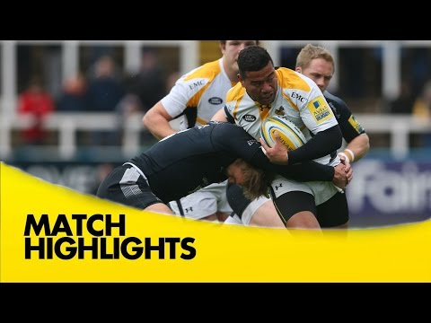Newcastle Falcons V Wasps - Aviva Premiership 2015/16