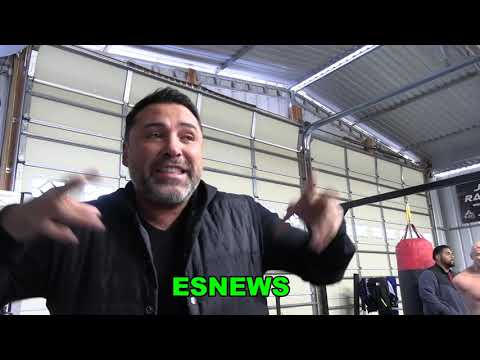 "Oscar De La Hoya ""I Think Andy Ruiz Has Anthony Joshua Number"" Expalns Why EsNews Boxing"