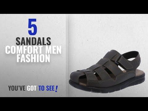 Top 10 Sandals Comfort [Men Fashion Winter 2018 ]: Dexter Men's Brown Men's Tucson Fisherman Sandal