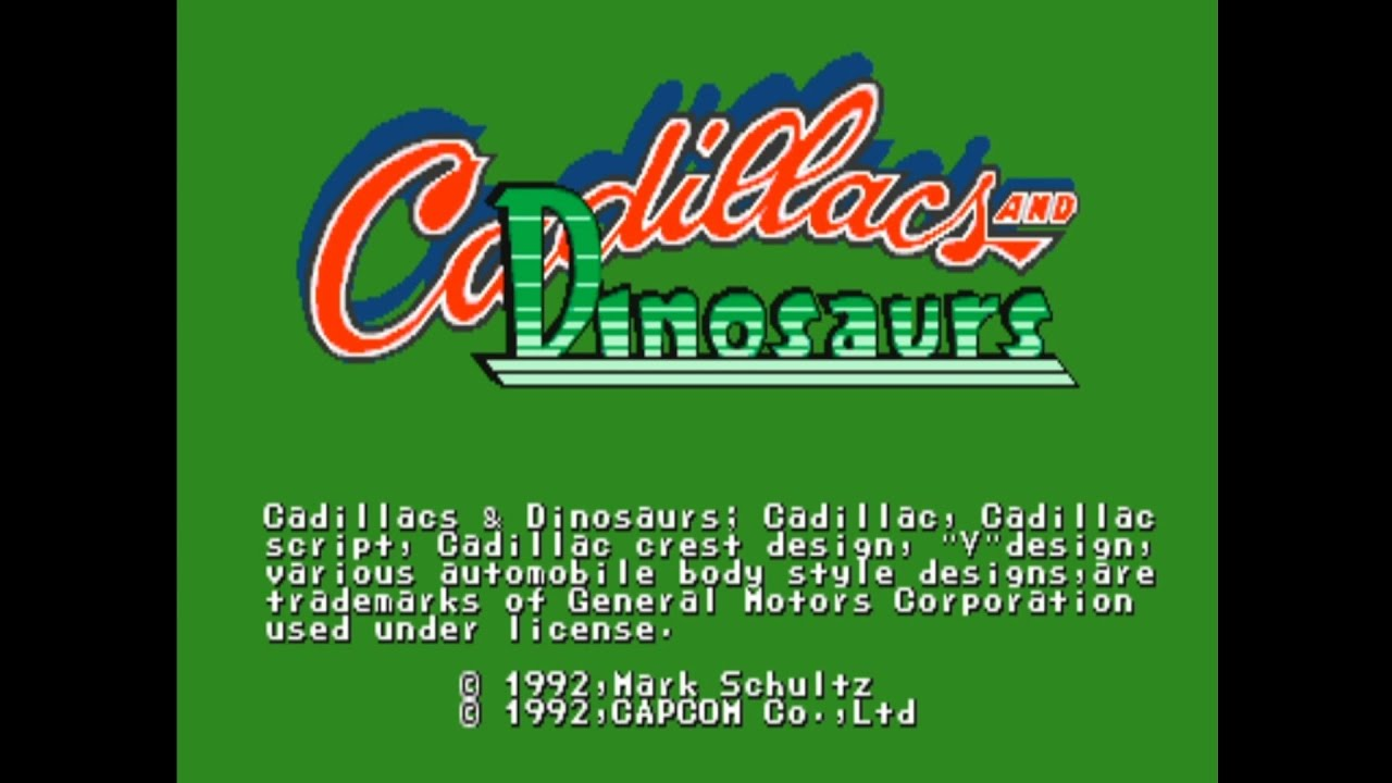 Game Jadul 90-an!! Cadillac and Dinosaurs (Opening) - YouTube