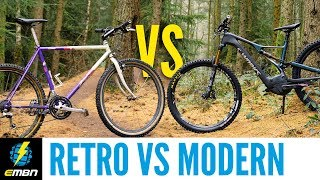 How Far Have Mountain Bikes Advanced Retro Vs Modern