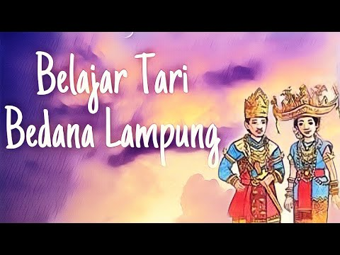 Belajar Tari Bedana Lampung (Versi Putri)