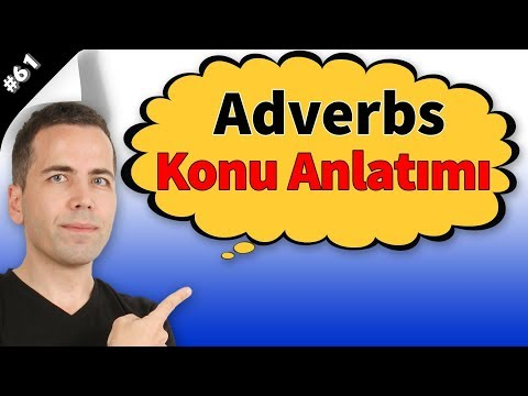 Adverbs Konu Anlatımı (Zarflar) #61