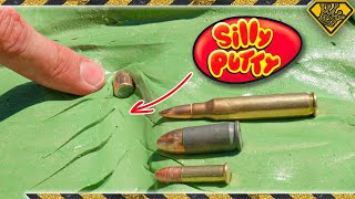 Silly Putty vs High Projectile Launcher