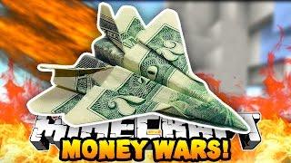 "Minecraft MONEY WARS ""GOD APPLE DEATH!"" #6 w/ Preston, PeteZahHutt & Kenny"