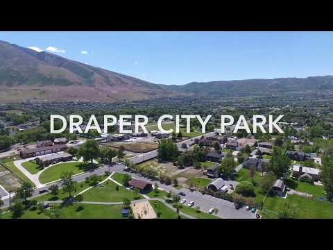Drone Video - Draper City Park in Draper, Utah