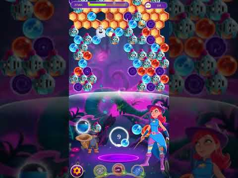 Bubble Witch 3 Saga Level 1086 No Boosters