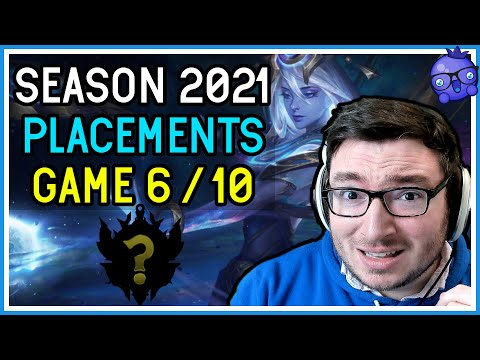Time to Carry myself with Lux! - 2021 Placements 6/10 - League of Legends