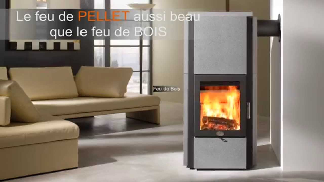 po le mixte pellet bois max blank mod stratos s youtube. Black Bedroom Furniture Sets. Home Design Ideas