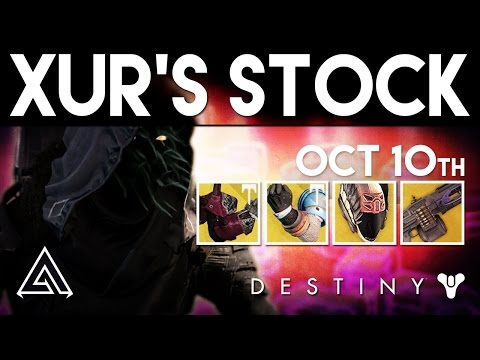 Destiny Xur October 7th - Xur's Location & Stat Rolls   Destiny Rise of Iron Exotics