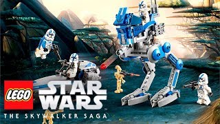 LEGO Star Wars: The Skywalker Saga - 501st Legion Clone Troopers (75280) Explained!