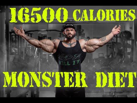 16500 Calories DAILY! MONSTER DIET Of Illia GOLEM!
