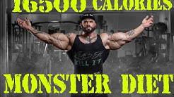16500 calories DAILY! MONSTER DIET of Illia GOLEM!