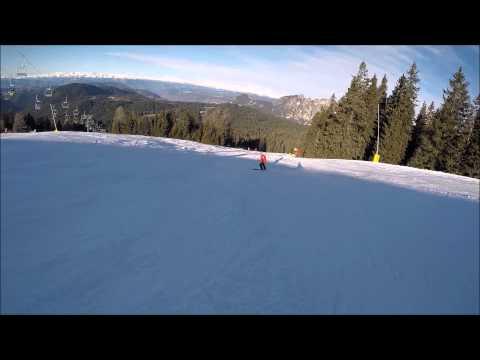 Piste da sci Carezza ski: pista rossa Laurin II