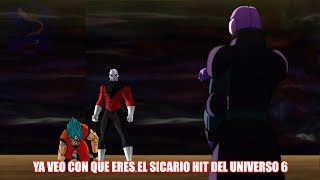 HIT SALVA A GOKU DE SER DERROTADO POR JIREN - LA PELEA COMIENZA HIT VS JIREN - DRAGON BALL SUPER