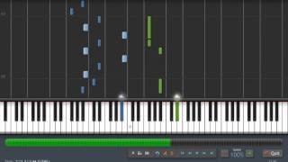 Mirrors Edge - Still Alive Piano Tutorial (synthesia)