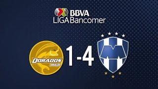 Dorados vs Monterrey 1-4 Jornada 5 Apertura 2015 Liga Bancomer MX - 15 de Agosto