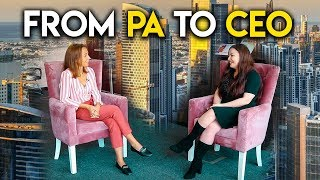 Success Story: from PA to CEO. Jobs in Dubai 2018.