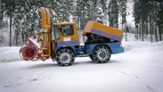 Nochmaaal - Spezialfahrzeuge - die Schneefräse