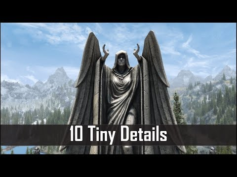 Skyrim: Yet Another 10 Tiny Details That You May Still Have Missed in The Elder Scrolls 5 (Part 40)