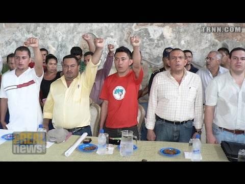 Honduran campesinos under the gun Pt.2